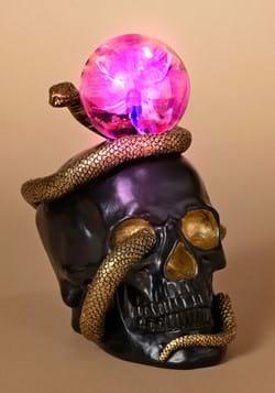 8 Skull Snake w Static Lighted Magic Ball
