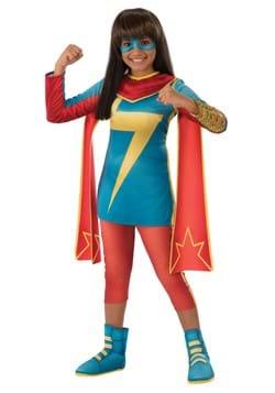 Girls Secret Warriors Ms. Marvel Costume