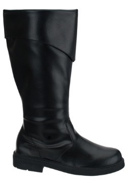 Tall Black Costume Boots