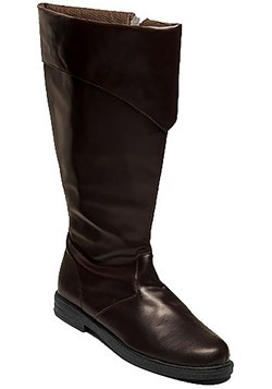 Tall Brown Costume Boots