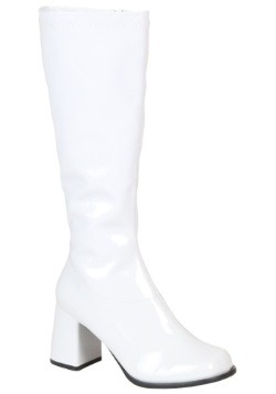 Womens Wide Calf Disco Boots