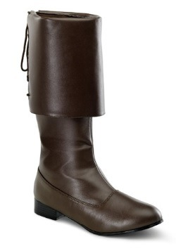 Brown Buccaneer Boots