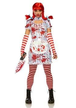 Women's Evil Fast Food Girl Costume