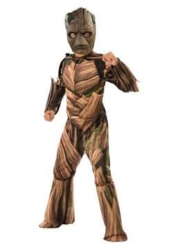 Deluxe Child Teen Groot Avengers Endgame Costume