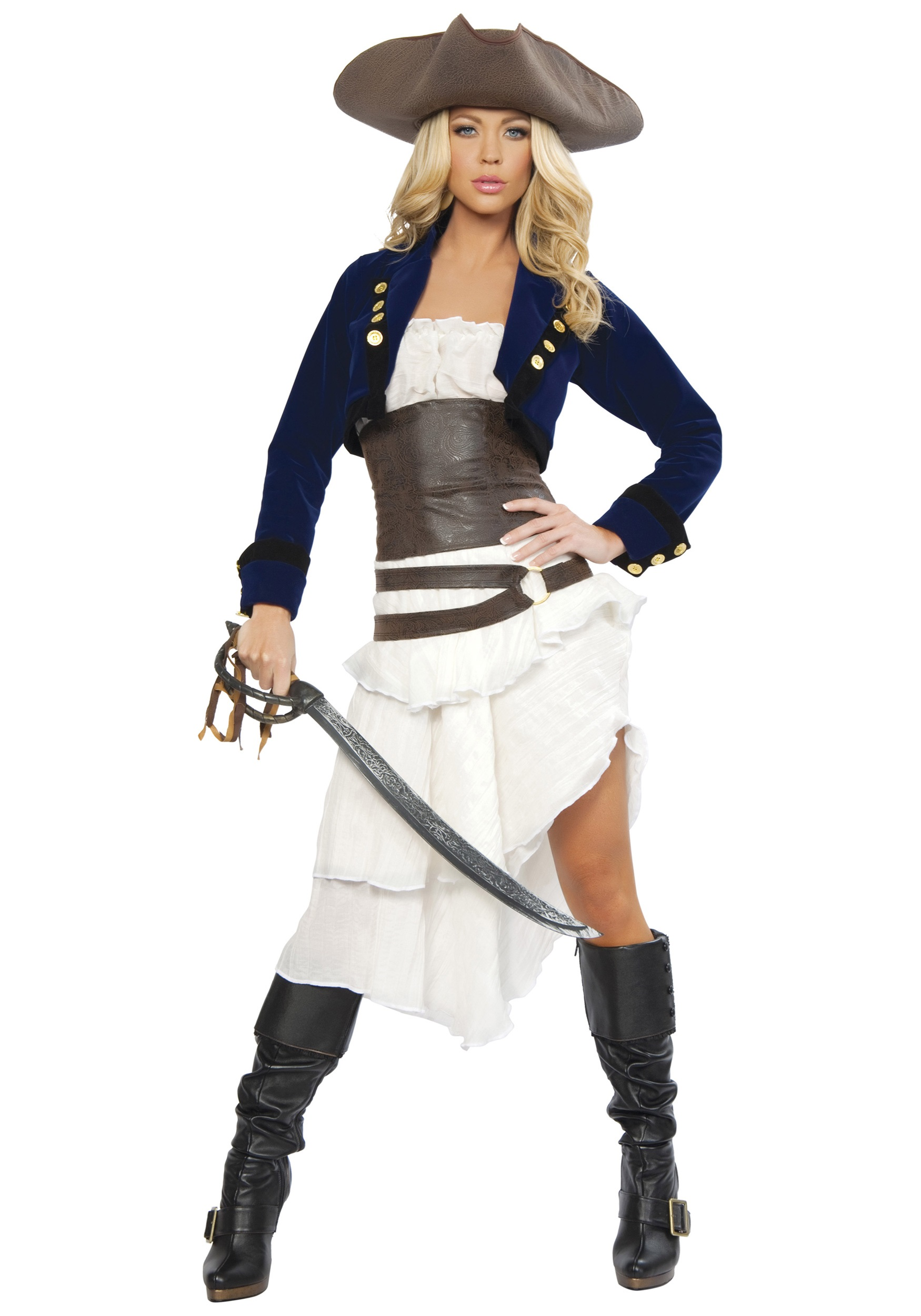 5a6924a58f4 Deluxe Colonial Pirate Costume