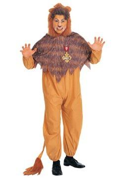 Adult Cowardly Lion Costume