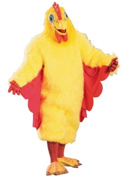 Adult Mascot Chicken Costume