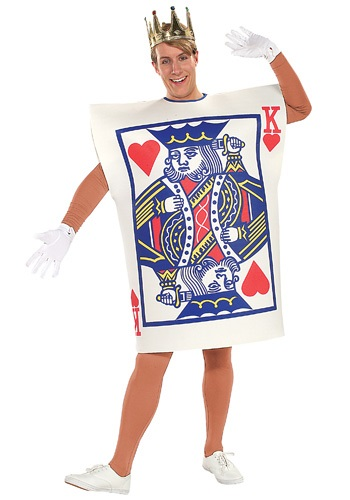 King of Hearts Card Costume