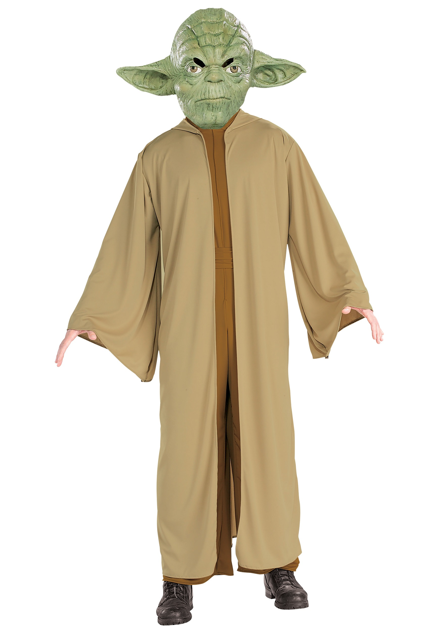 Adult Yoda Fancy Dress Costume