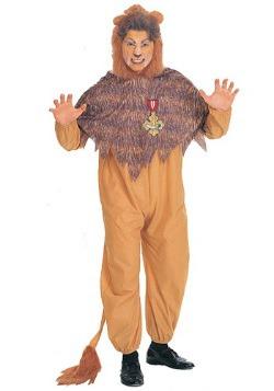 Plus Size Cowardly Lion Costume