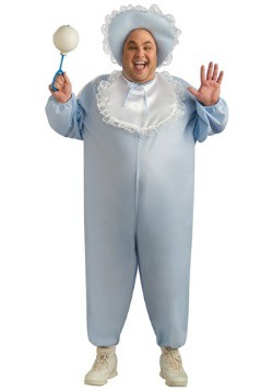 Adult Baby Boy Plus Size Costume