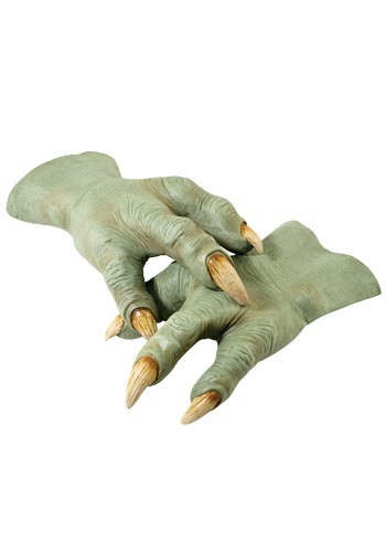 Deluxe Latex Yoda Hands