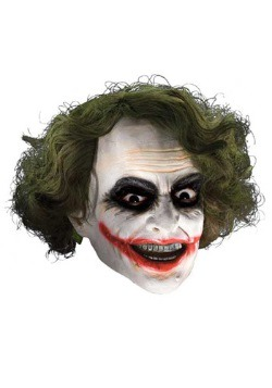 Child Deluxe Joker Mask with Hair