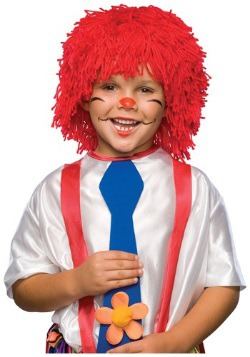 Boys Rag Doll Wig