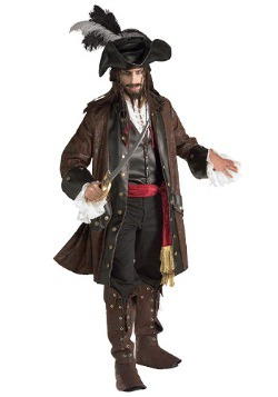 Authentic Caribbean Pirate Adult Costume