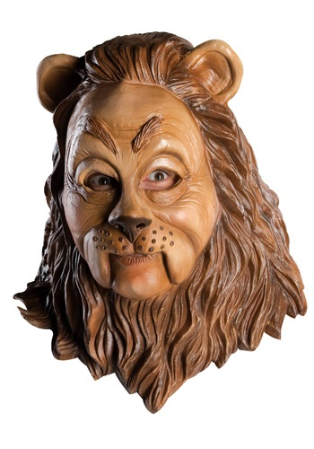 Latex Cowardly Lion Mask