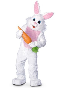 Mascot Easter Bunny Costume