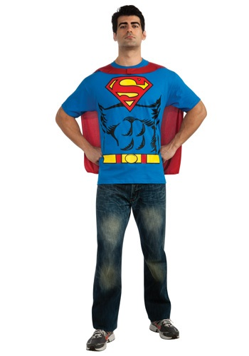 Superman T-Shirt Costume