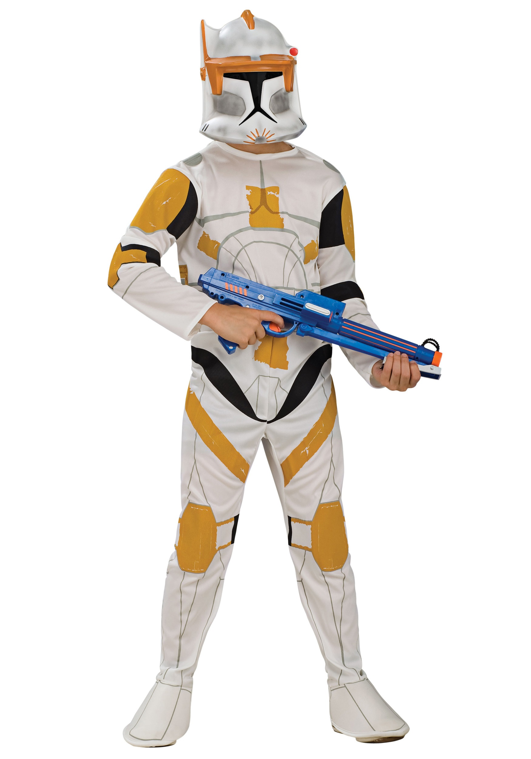 Kids Clone Trooper Cody Fancy Dress Costume