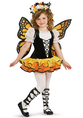 Toddler Monarch Butterfly Costume