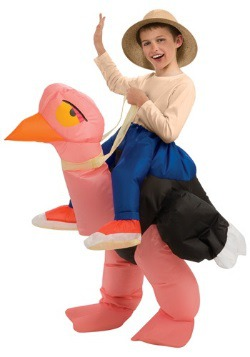 Child Inflatable Ostrich Costume