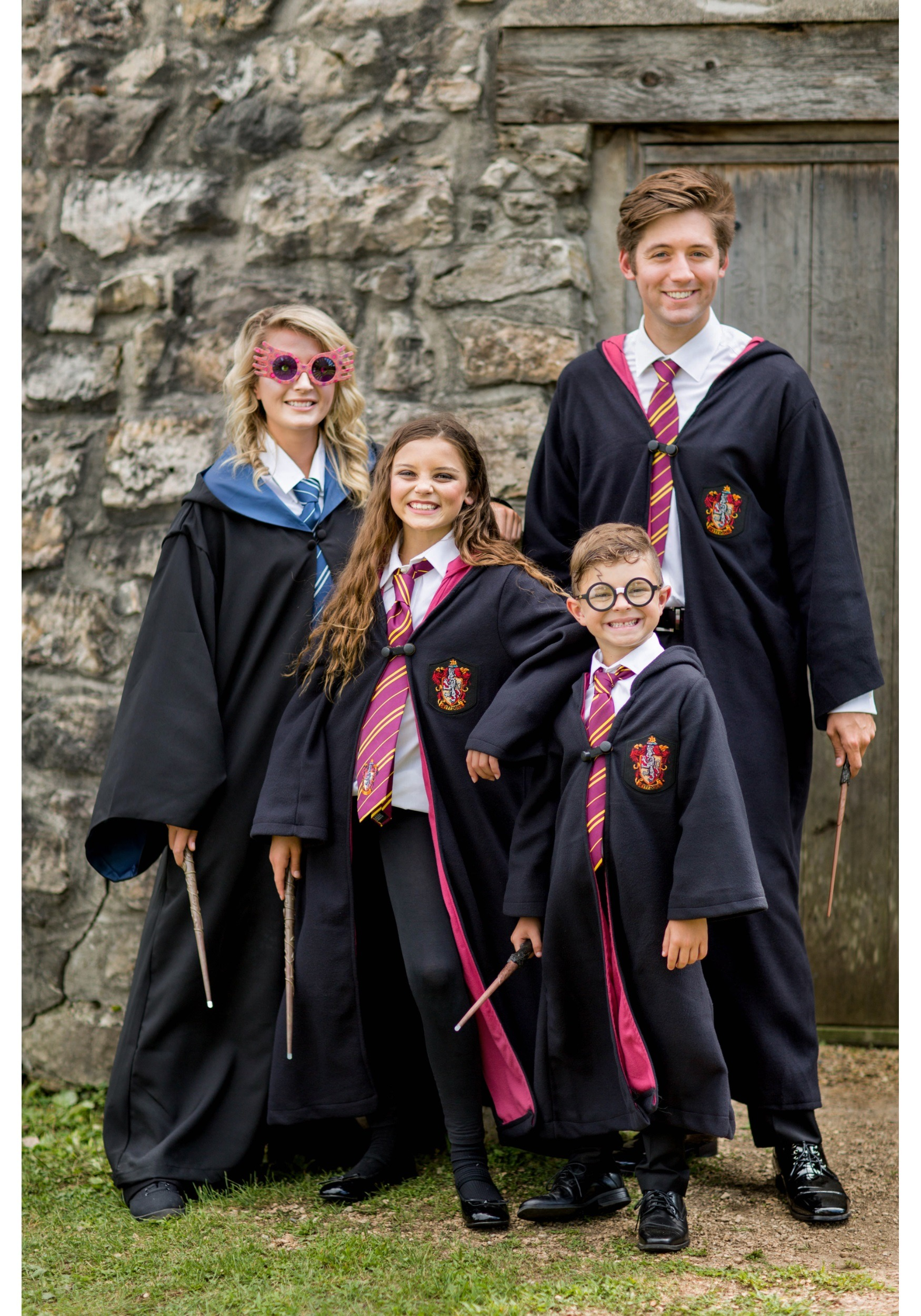 Ron And Hermione Halloween Costumes | Child Deluxe Hermione Costume