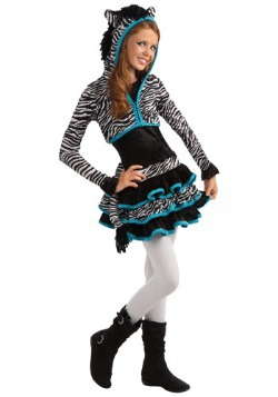 Tween Zebra Costume