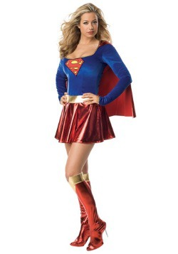 Women's Sexy Supergirl Costume