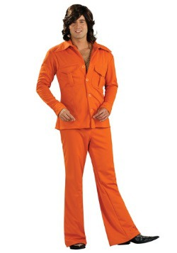 Orange Leisure Suit
